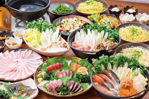 there are two types of nabemono in japan lightly flavored stock mostly ...